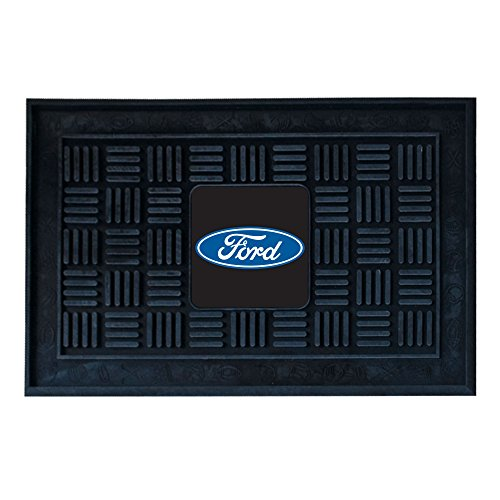 FANMATS 16119 Ford Oval Medallion Door Mat