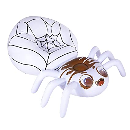 Fabulous Hiwena Halloween Decorations Inflatable Spider Lounge Inflatable Pool Lounge Air Chair Halloween Fun Party Ideas Air Sofa 67 X 45 X 31 Inzonedesignstudio Interior Chair Design Inzonedesignstudiocom