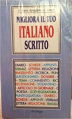 Migliora il tuo Italiano scritto