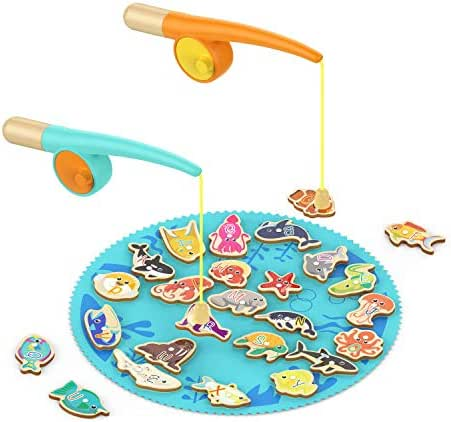 TOP BRIGHT Toddler Fishing Game Gifts for 2 3 Year Old Girl and Boy Toys Birthday