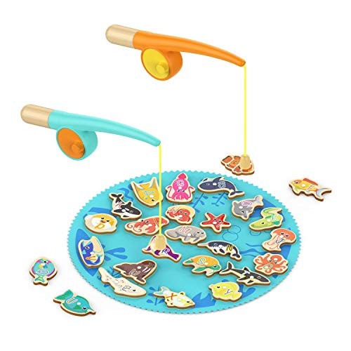 Best Present For 2 Year Old Boy (TOP BRIGHT Toddler Fishing Game Gifts for 2 3 Year Old Girl and Boy Toys)