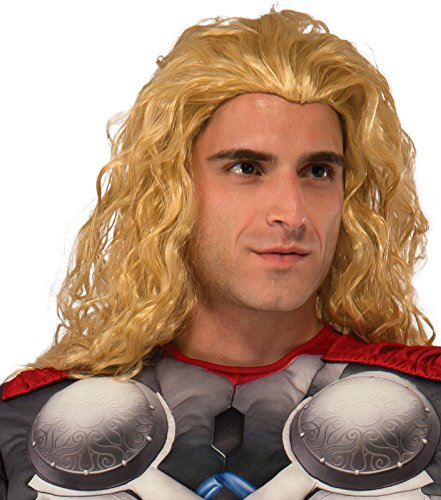 Rubie's Costume Co Men's Avengers 2 Age Of Ultron Adult Thor Wig, Blonde, One Size