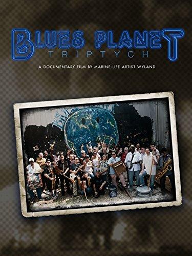 Blues Planet: Triptych - Planet Blue La