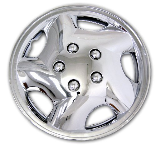 TuningPros WC-14-852-C 14-Inches-Chrome Improved Hubcaps Wheel Skin Cover Set of 4 1987 Buick Lesabre A/c