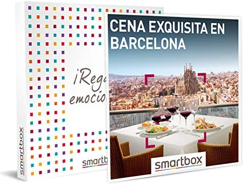 cena exquisita en barcelona smartbox