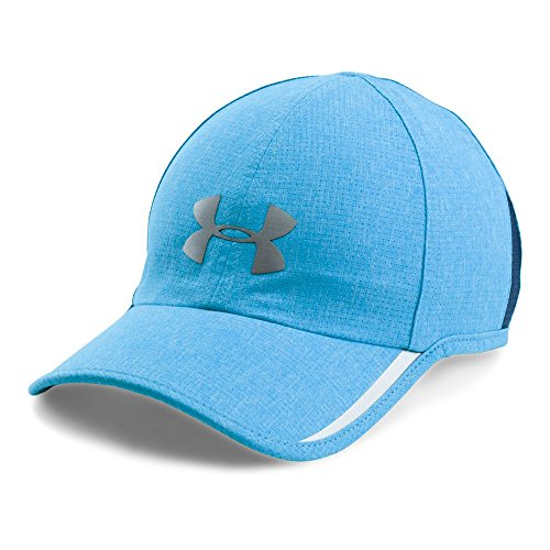 Under Armour Men's Shadow ArmourVent Cap, Blue Shift Medium He (929)/Silver, One Size (Armour Cap Under Running)