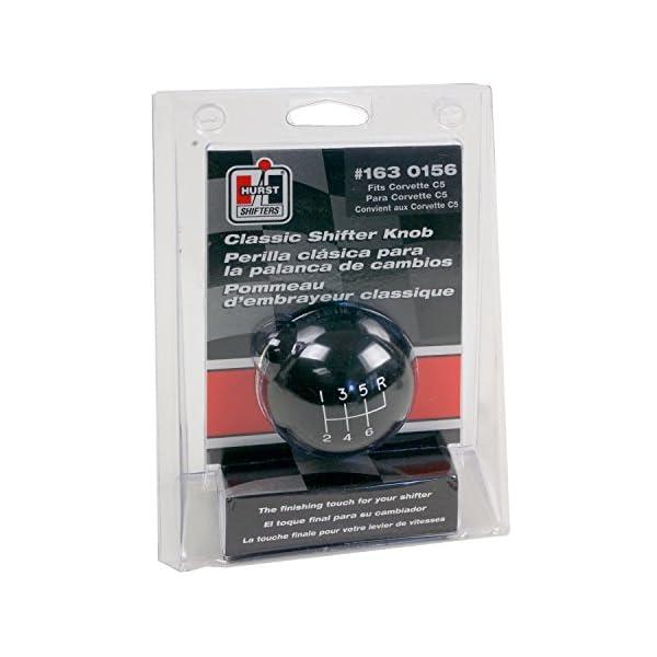 Hurst 1630103 Black 4-Speed Classic Shifter Knob