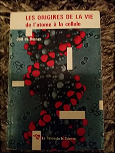 Download Online Les origines de la vie pdf epub