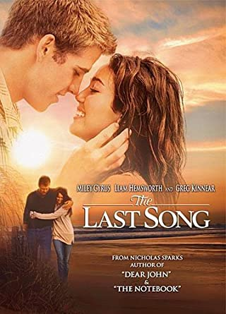 Amazon The Last Song Miley Cyrus Liam Hemsworth Greg Kinnear