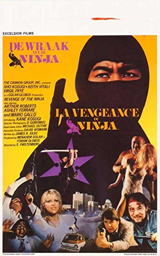 Amazon.com: Revenge of the Ninja (Belgian)  POSTER (27