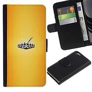 NEECELL GIFT forCITY // Billetera de cuero Caso Cubierta de protección Carcasa / Leather Wallet Case for Apple Iphone 5 / 5S // Stromtrooper Legión