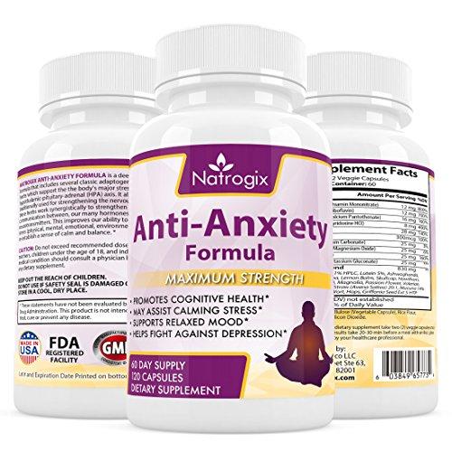 Natrogix |Powerful Anti Anxiety Formula