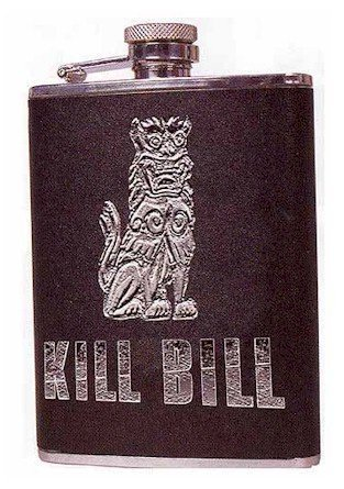 Costume Bill Collector (Kill Bill Hip Flask)