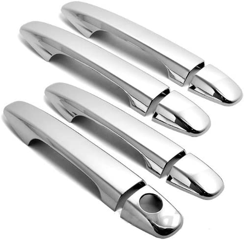 For 11 12 Toyota Prius Sienna Venza Chrome 4 Door Handle Covers With Smart Key