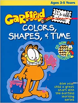 Garfield Colours Shapes & Time por Not Available epub