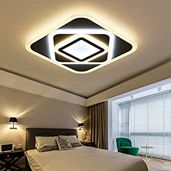 FuRongHuang Rechteck Moderne Led Leuchte Leuchten Lampe 24W 160 W Esszimmer/Schlafzimmer  Acryl