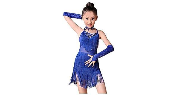 Xmiral 4Pcs Conjuntos de Ballet Latino Vestido Borla Baile para ...