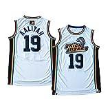 JerseyFame Basketball Jersey #19 'AALIYAH BRICKLAYERS' Basketball Jersey White S-XXL (M)