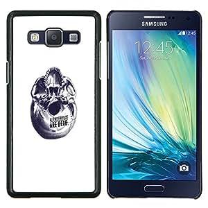 Stuss Case / Funda Carcasa PU de Cuero - Lindos del bebé Fox Amigos - Samsung Galaxy A5 ( A5000 ) 2014 Version