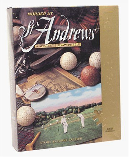 Murder at St. Andrews Puzzle (1,000 pc)