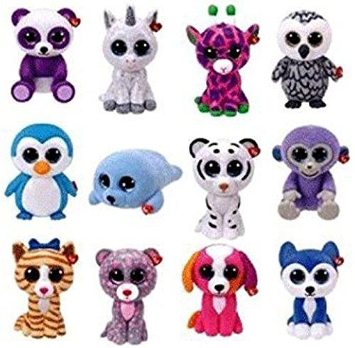 TY Mini Boo Figures SERIES 2 - COMPLETE SET OF 12 - (NO DUPLICATES! 552f80200ea1