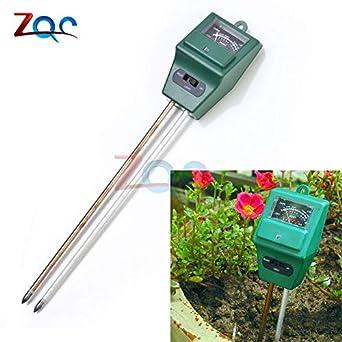 Garden Soil PH Meter - Medidor de humedad para jardinería, cultivos, flores, plantas, acidez, medidor de humedad y pH: Amazon.es: Amazon.es