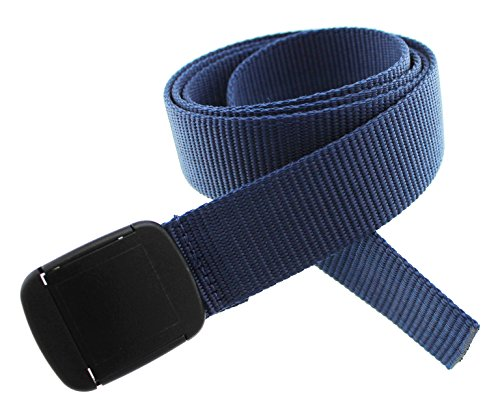 Hiker Belt Made in USA by Thomas Bates (navy)