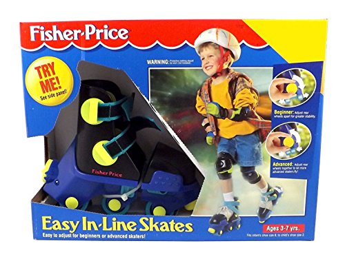 Fisher-Price Kids Easy in-Line Grow with Me Roller Skates...