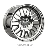 XXR Wheels 531 Platinum Wheel with Painted Finish (16x8''/4x100.4mm, +20mm offset)