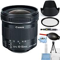 Canon EF-S 10-18mm f/4.5-5.6 IS STM Lens Bundle (Starter Bundle)