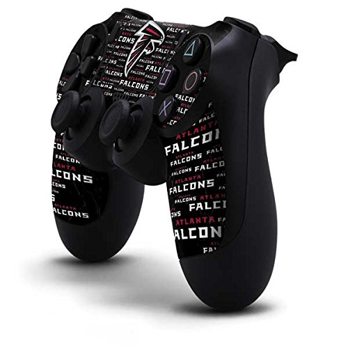 NFL Atlanta Falcons PS4 Controller Skin - Atlanta Falcons Black Blast by Skinit
