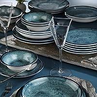 Mitterteich NNTS24Y2890003 6 kişilik yuvarlak şekilli set, 6 kahvaltı tabağı, 6 yemek tabağı, 6 derin tabak ve 6 kase…