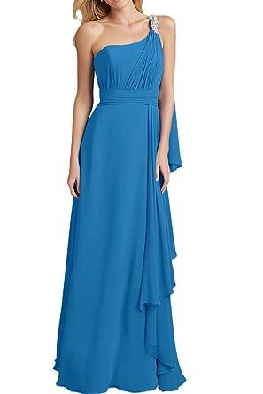 Royaldress Gruen Chiffon Abendkleider Brautjungfernkleider ...