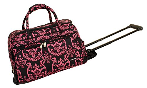 jenni-chan-damask-deluxe-carry-all-rolling-duffel-pink-one-size