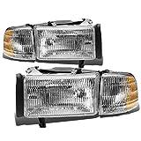 Best OEM headlamp - DNA motoring HL-OEM-DR94-4P, OEM style Headlight Assembly Review