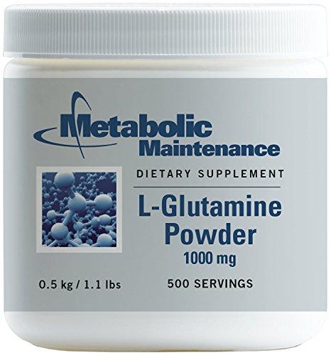 Metabolic Maintenance - L-Glutamine Powder - 1000 mg, Amino Acid Support for Gut Health, 500 Grams by Metabolic Maintenance