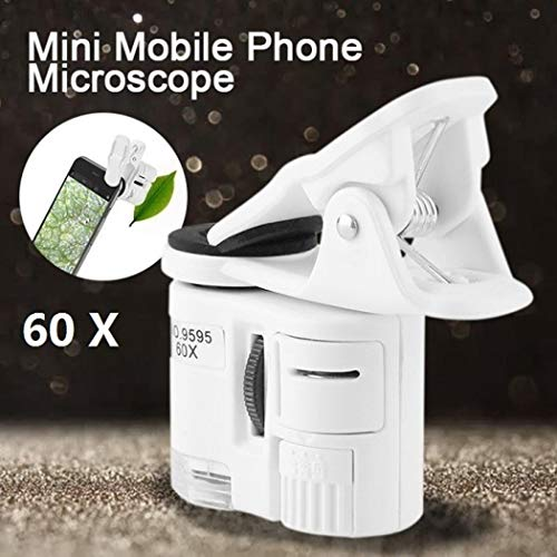 Gonikm Clip-Type Magnification LED Light Mobile Phone Magnifier