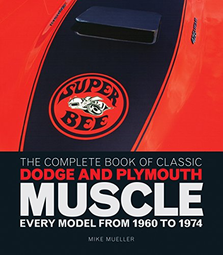 The Complete Book of Classic Dodge and Plymouth Muscle: Every Model from 1960 to 1974 (Complete Book Series) by Brand: Motorbooks