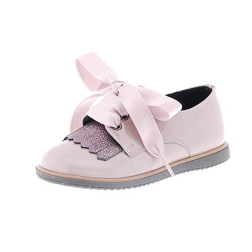 1423 Clarys Rosa 26Amazon Niña Blucher Oxford Zapatos Cordon es QWrxoCBedE