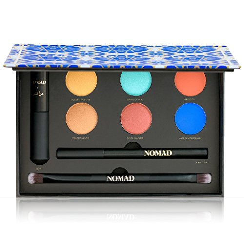 NOMAD x Marrakesh All-In-One Makeup Palette with Mascara,...
