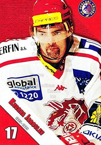 fan products of (CI) Jaroslav Kudrna Hockey Card 2005-06 Czech HC Ocelari Trinec Postcards 6 Jaroslav Kudrna