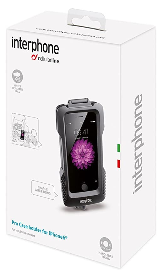 custodia per moto iphone 5 cellularline