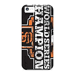 CC WalkingDead Perfect Tpu Case For Iphone 5c/ Anti-scratch Protector Case (san Francisco Giants)