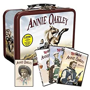 Annie Oakley Collectable Tin with Handle