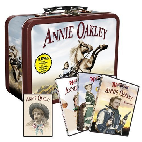 Annie Oakley Collectable Tin with - Oakley Collectors