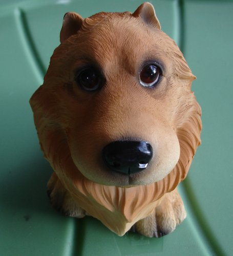 Pomeranian Bank--Big Head Puppy Piggy Bank for Dog (Pomeranian Coin)