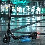Monopattino-Elettrico-Pieghevole-per-Adulti-KUGOO-ES2-E-Scooter-Portatile-350W-Motore-Autonomia-25-Km-Controllo-App85-Pneumatici-AmmortizzatiFanali-a-LED-Freno-Doppio-Sistema