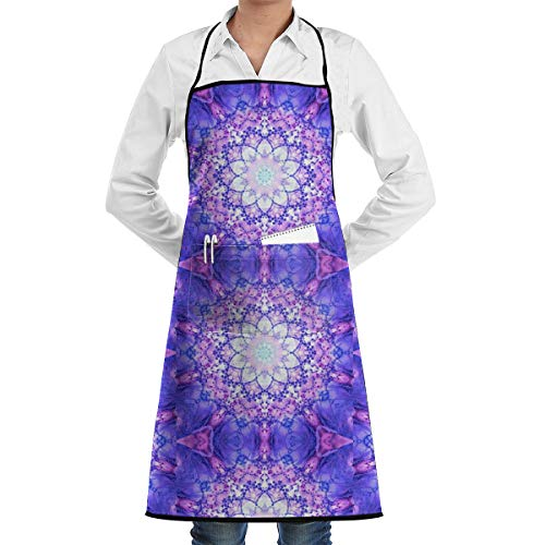 (Kitchen Aprons Bee-Having 2, Let It Bee_1594 Adjustable Bib Apron with Pockets 28.3x20.5inch)