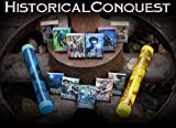 Historical Conquest Playing Cards (CCG) - Complete Set of Starter Decks (7 Decks)