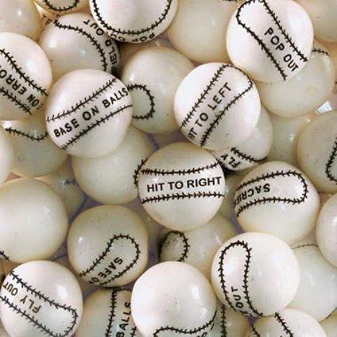 Dubble Bubble Baseball Gumballs, 2LBS]()
